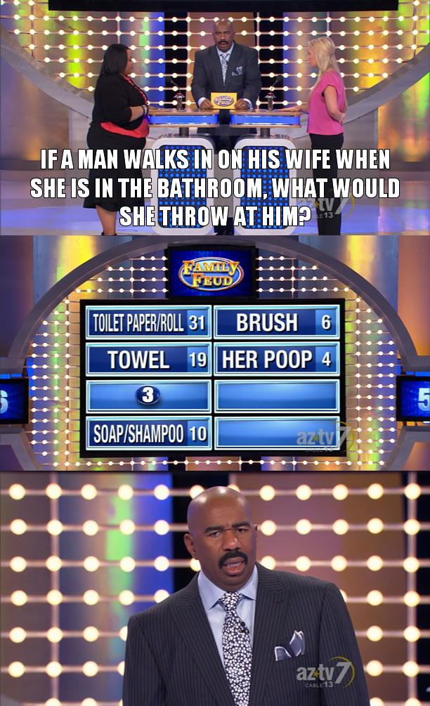 """10 Times Steve Harvey's Soul Collapsed On """"Family Feud"""""""
