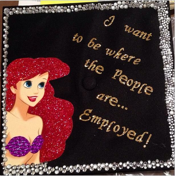 Graduation Cap Clever Girl: 11 Clever And Hilarious Graduation Caps