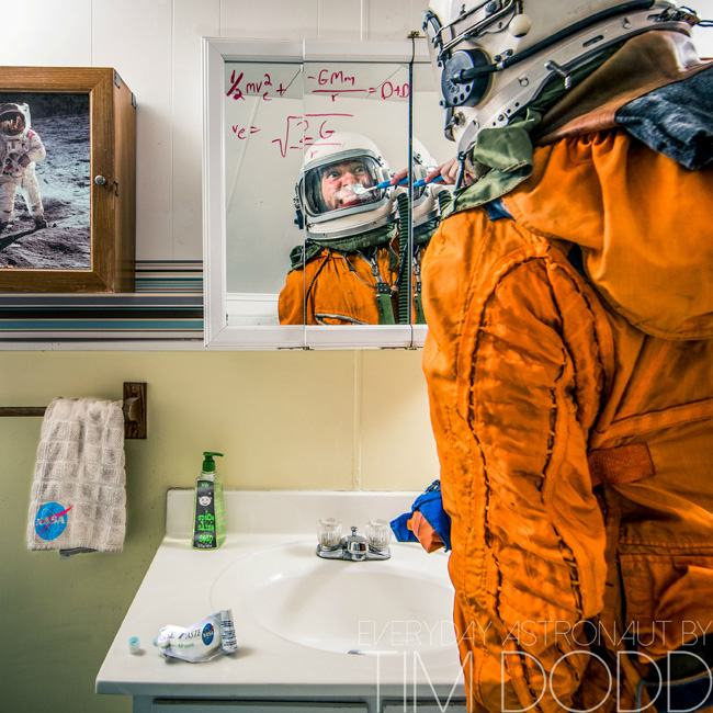 daily life of an astronaut in space - photo #11