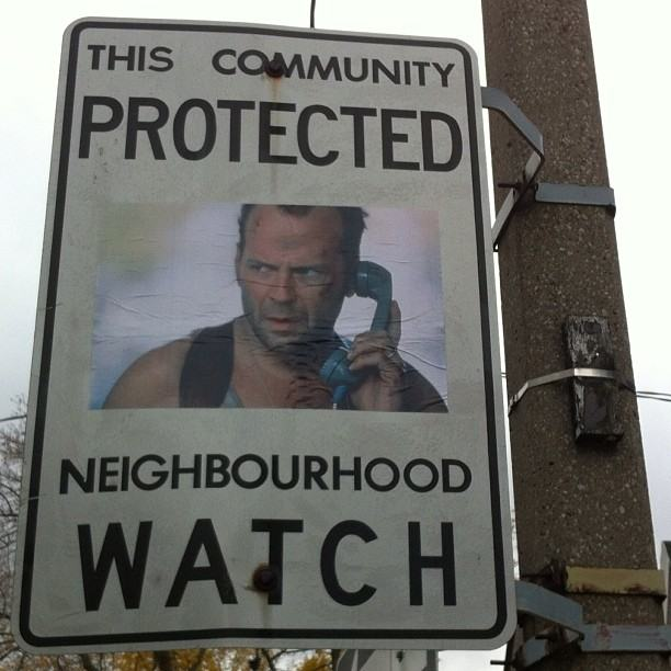 Toronto S Neighborhood Watch Signs Improved With Tv And