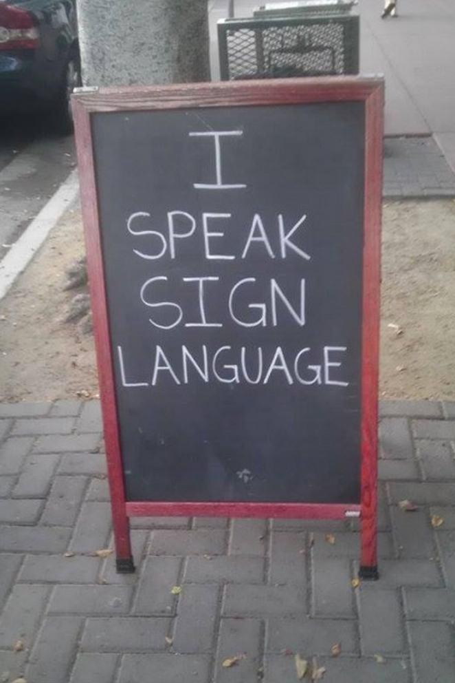 21 funny chalkboard signs