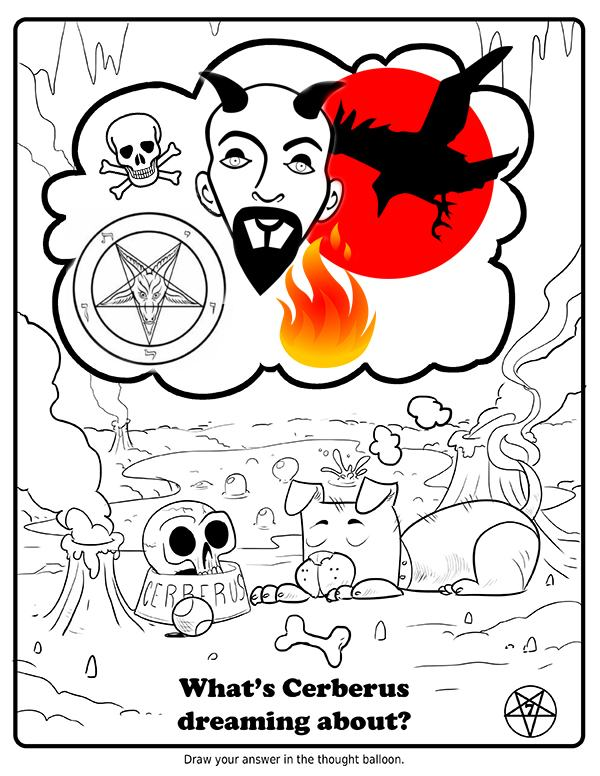 Apparently Theres A Satanic Coloring Book For Kids 7
