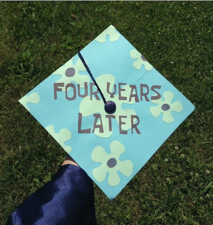 the 20 funniest graduation caps of all time