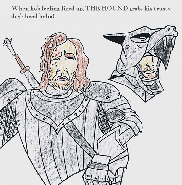 The \'Game of Thrones\' Coloring Book – Pleated Jeans
