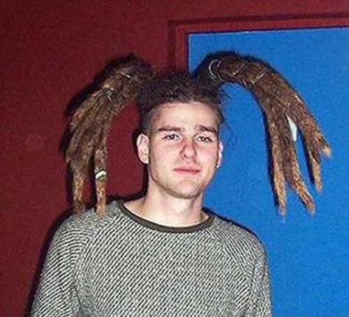 Pleasant The 20 Worst Hair Styles Ever Uploaded To The Internet Pleated Short Hairstyles Gunalazisus