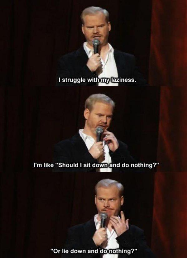 22 Classic Jokes From Jim Gaffigan | Pleated Jeans