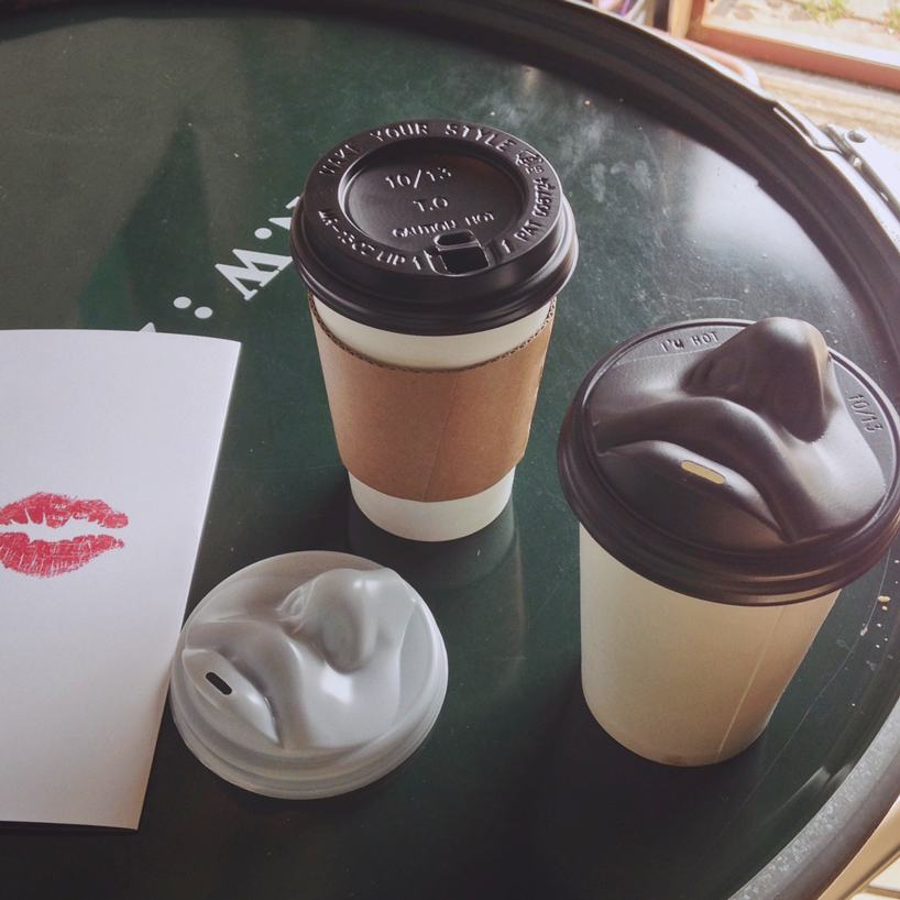 how to drink coffee with lid