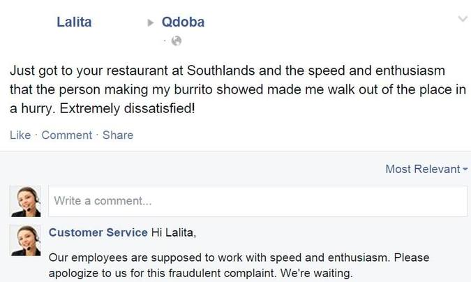 Fake Customer Service Page Responds to Real Customer Complaints on ...