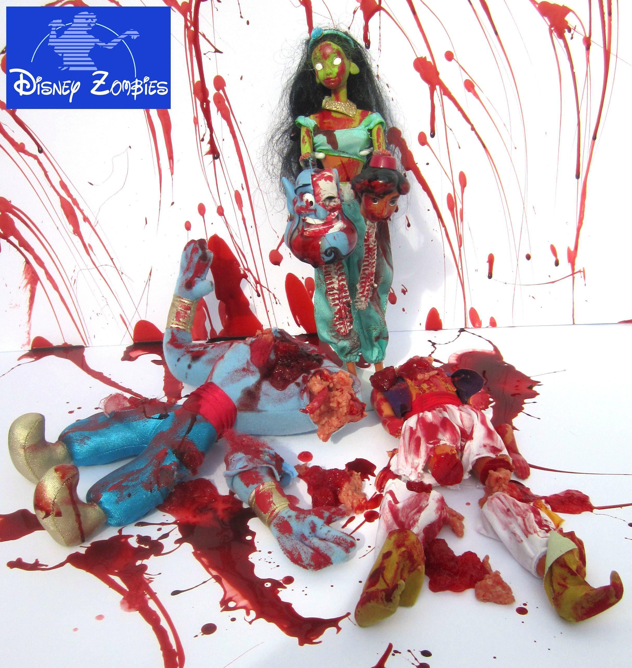 Disney Zombie Princesses By Matt Christensen Pleated Jeans