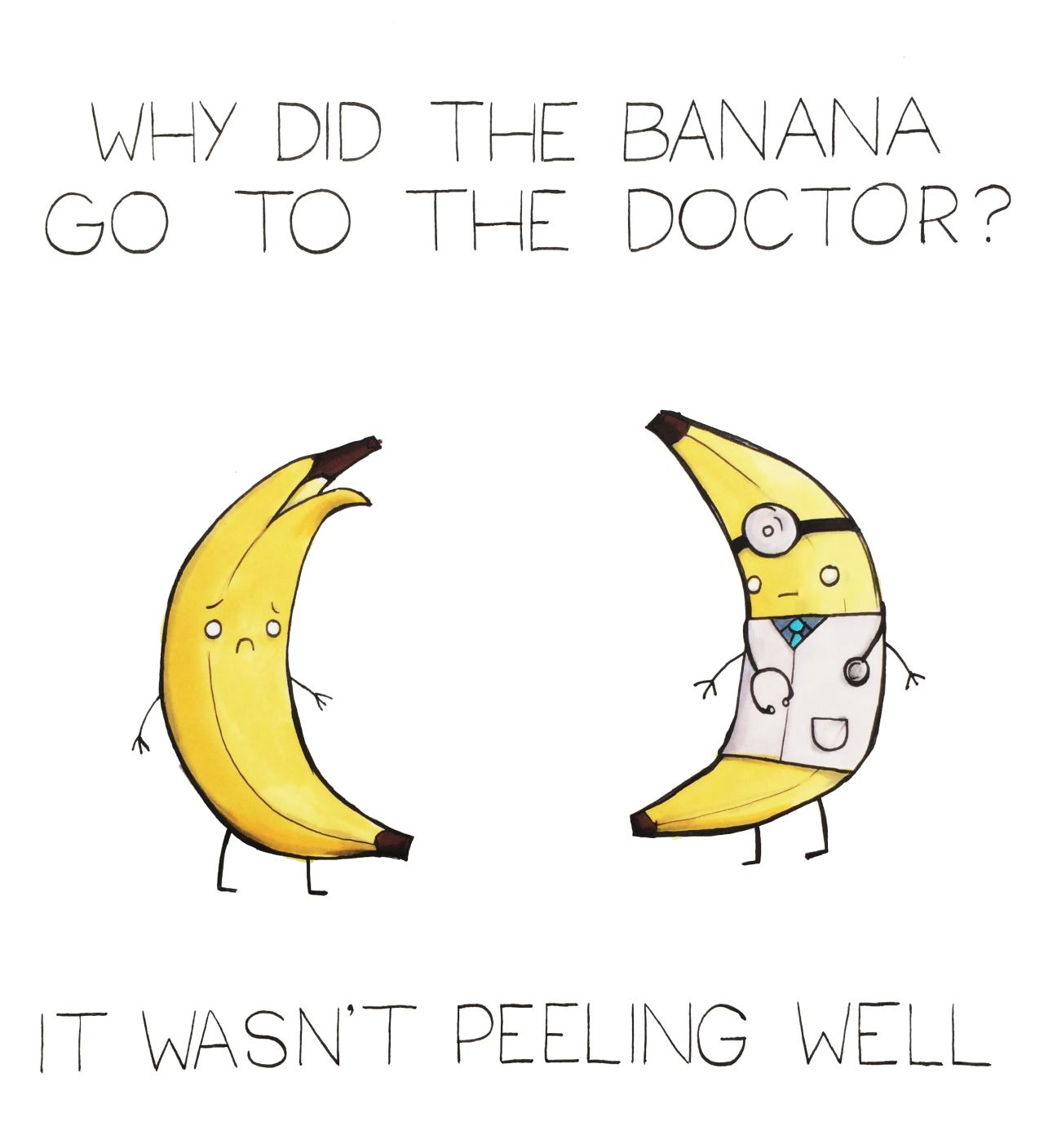 The artist known as Arseniic has created this series of cute illustrated jokes. Follow her Tumblr blog, Pundemonium, for more… [via designtaxi]