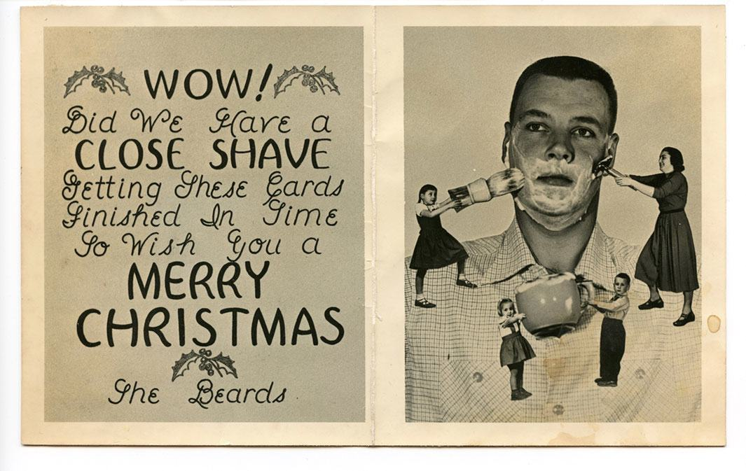A Collection of the Most Bizarre Vintage Christmas Cards Ever ...