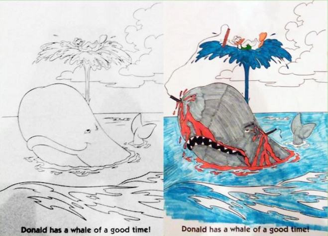 24 New Corrupted Coloring Book Pages