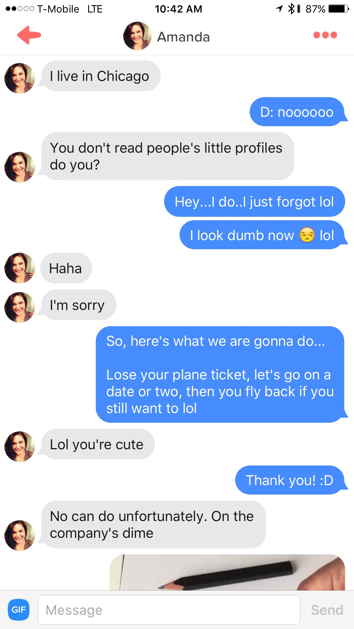 How to keep conversation going on tinder