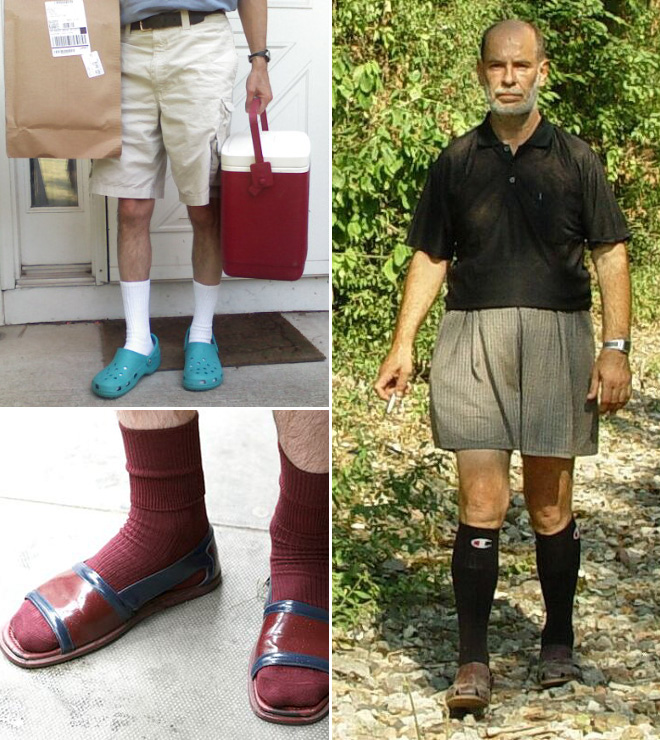 These Pictures Prove That Wearing Socks With Sandals Is