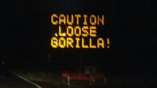 17 led road signs that were hacked to say something funny