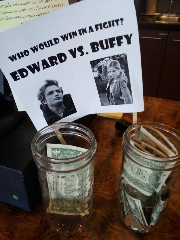 26 genius tip jars designed to get people to give more for Cool money jars