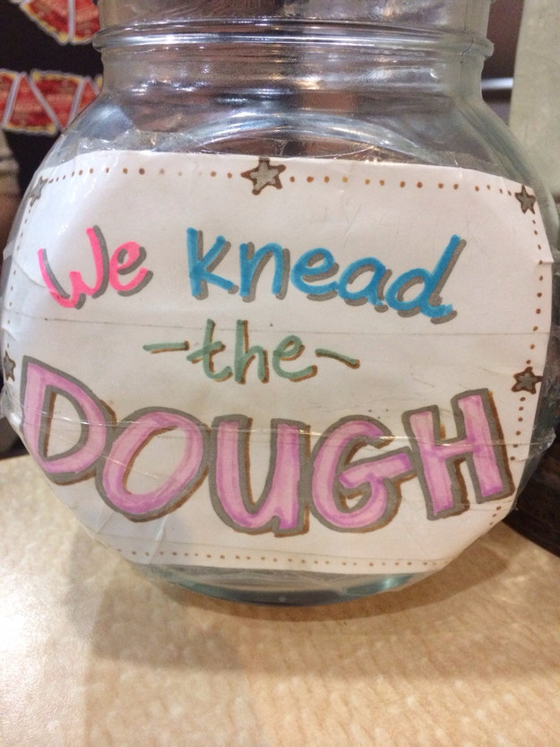 26 Genius Tip Jars Designed To Get People To Give More